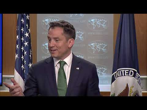 Department Briefing - March 14, 2019