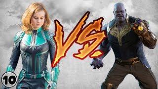 Video Captain Marvel vs Thanos MP3, 3GP, MP4, WEBM, AVI, FLV Juni 2018