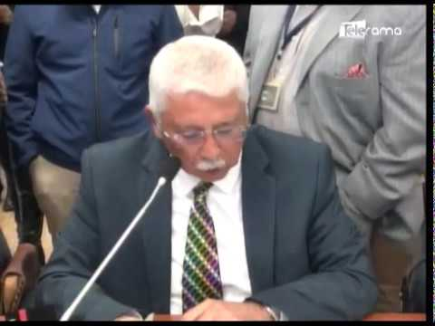 Prefecta Pabón compareció a comisión que investiga el paro