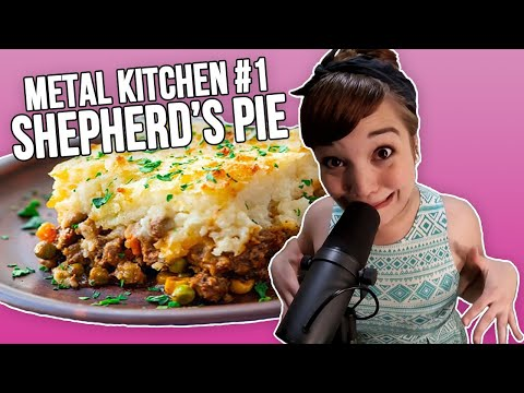 Metal Vocalist Sings Her Recipe For Shepard s Pie