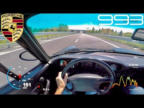 Porsche 993 Carrera 3.6L 272hp 1995 [INSANE POV DRIVING & OVERVIEW]