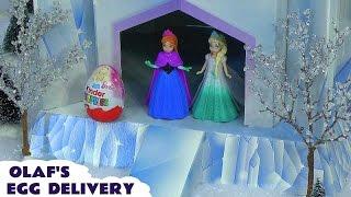 Kinder Surprise Disney Princess Zaini Eggs Frozen Olaf Barbie Hello Kitty Anna Elsa Belle Cinderella