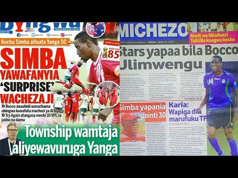 MICHEZO Magazetini Jumanne 20/3/2018:Simba yaahidi kufuta machozi kwa ubingwa VPL