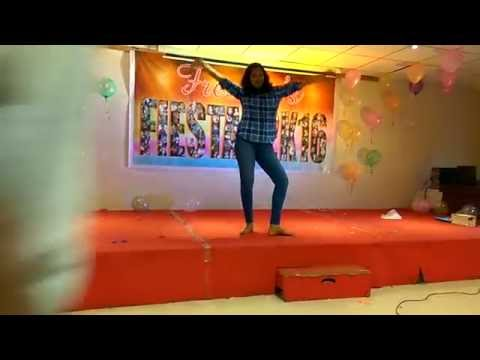 Pakka Local  Dance Performance  In  Mvgr  College Of Engineering Freshers 2016