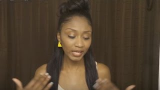 Versatile Sew-in in 15 mins! 360 MIcro Bead Human Hair Review! (Not a tutorial)