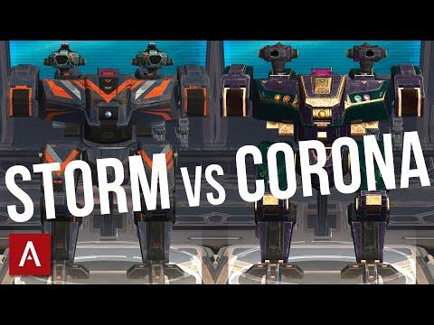 War Robots [WR] Nemesis Storm vs Nemesis Corona | Best Builds Comparison | MK2 Gameplay