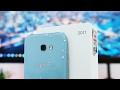 foto Unboxing Samsung Galaxy A7 2017 Indonesia - Warna Blue Mist!
