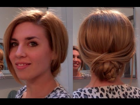 Knot bun/ Low bun hair tutorial – easy hairstyles for long hair