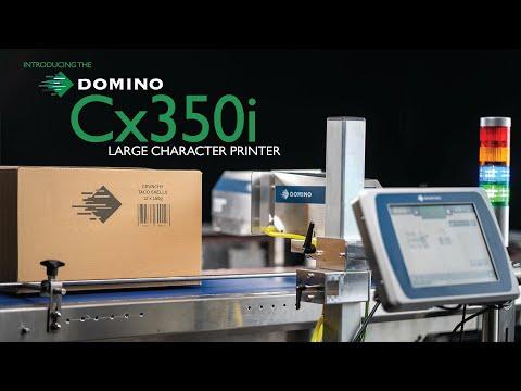 Video: Domino Cx350i – inkjetové značení přepravních obalů