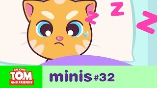 Video Talking Tom and Friends Minis -  Ginger Wants to Sleep (Episode 32) MP3, 3GP, MP4, WEBM, AVI, FLV Maret 2018