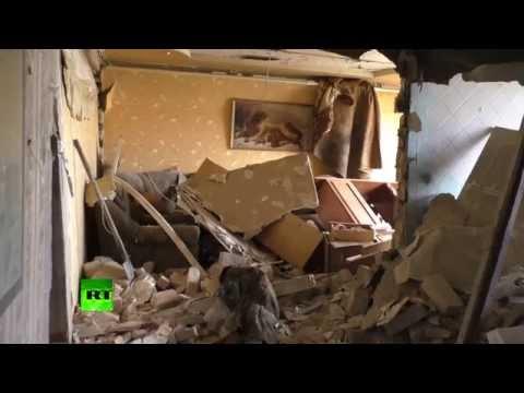 Украинская армия обстреляла поселок под Донецком