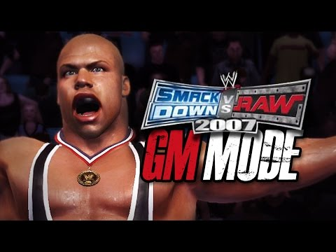 "WWE Smackdown vs Raw 2007 - GM MODE - ""THE DRAFT!!"" (Ep 1)"