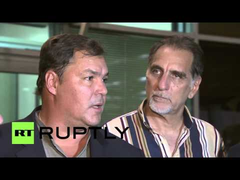 »Cuban Five« arrive in Moscow ahead of Victory Day celebrations