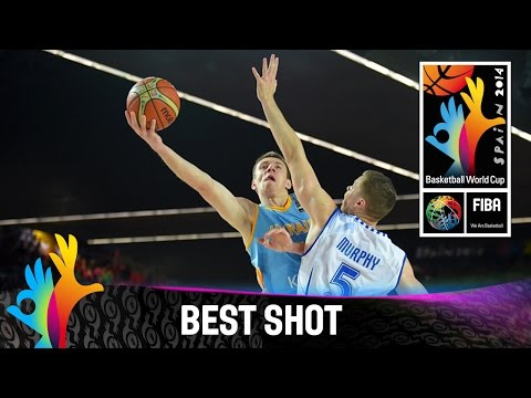 Shot - Watch Oleksandr Lypovyy's deep three versus Finland. The 2014 FIBA Basketball World Cup will take place in Spain from 30 August - 14 September and will feature the best international players...