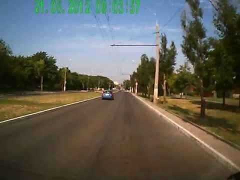 Луганский велосипедист жжот!