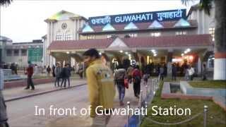 Guwahati India  city images : Train trip from Guwahati to Jorhat, Assam, India
