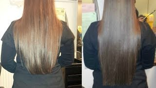 HOW TO GROW 2-4 INCHES OF YOUR HAIR IN A WEEK! | EVIN Yalcin ♥ - YouTube