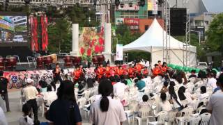 Wonju-si South Korea  city photo : Wonju Rose Festival 2012 _ martial arts exhibition