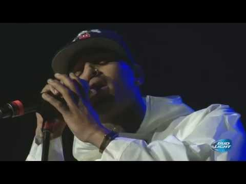 "Chris Brown Performing ""X"" At Cali Christmas Festival 