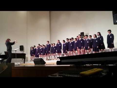 2017下津小学校音楽会 6年生 「まあるい地球の君と僕」