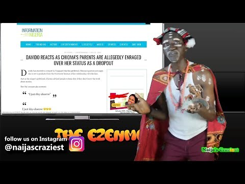 Davido's 2nd Assurance Drops Chioma Out Of School As Codeine Flood Nigeria  || The Ezenmo Show EP 19