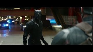 Video Captain America: Civil War- Black Panther Chase Scene [HD Scene] MP3, 3GP, MP4, WEBM, AVI, FLV Januari 2018