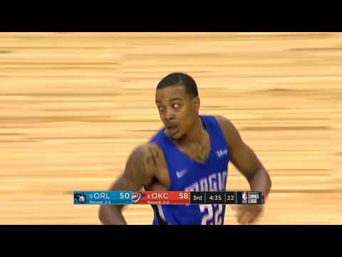 The Oklahoma City Thunder and Orlando Magic Goes Down To The Wire   2018 MGM Resorts Summer League