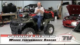 4. ATV Television - Works Shocks on Suzuki King Quad 750
