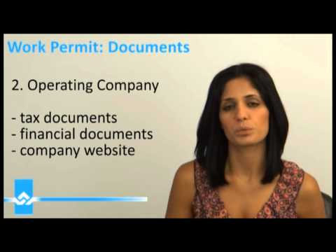 Canada Work Permit Documents Video