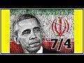 7/4 OBAMA/IRAN NUKE DEAL SCHEME (2,500 GRANTED CITIZENSHIP) #QAnon