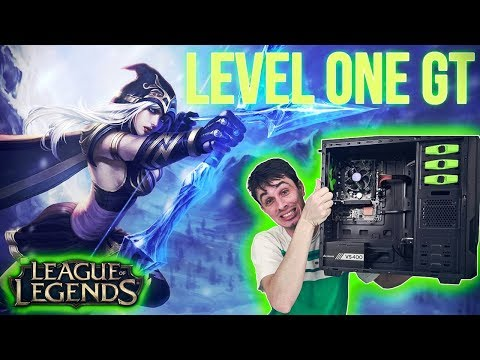 GT1030!!! LEVEL ONE GT - TESTE League of Legends ‹ ChipArt ›
