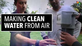 Incredible 3D printed gadget turns air into drinking water