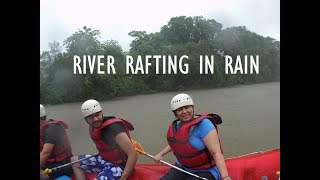 River Rafting in Rain