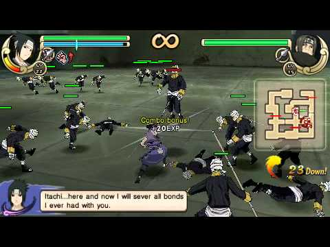 naruto shippuden ultimate ninja impact psp iso fr