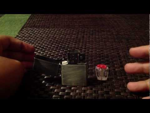how to unclog a zippo