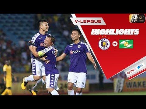 Hà Nội thắng đậm SLNA 4 bàn không gỡ, vươn lên vị trí đầu bảng xếp hạng V.League 2019 | VPF Media - Thời lượng: 5:27.