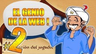 Él LO SABE TODO !! - Akinator: El genio de la web #2