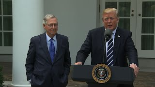 Trump, McConnell: Relationship is 'Outstanding'