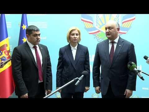 Глава государства принял участие в заседании законодательного органа Гагаузии