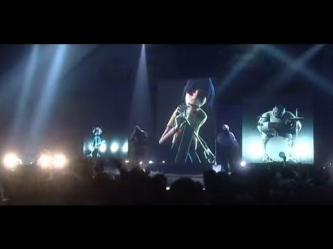Gorillaz - Clint Eastwood (Live BRITs Performance)