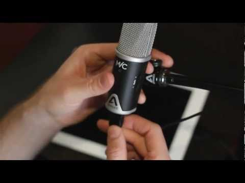 Recording a song on iPad with Apogee MiC and JAM in GarageBand