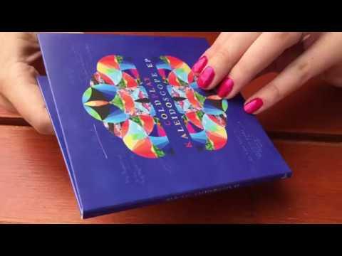 Coldplay Kaleidoscope EP unboxing