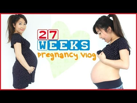 ♥ 27 WEEK PREGNANCY VLOG ♥