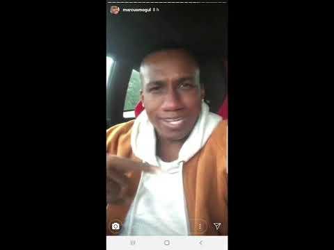 hip-hop artist 'Marcus Hopsin' hates his Lamborghini, FUNNY!