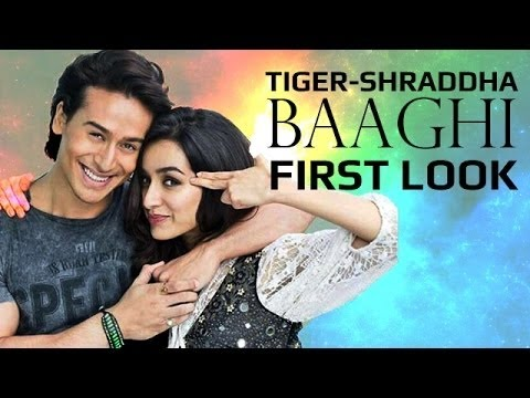 Tiger Shroff and Shraddha Kapoor First Look - BAAGHI: Rebels in Love