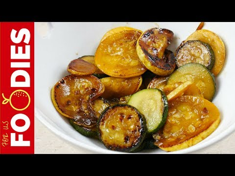 Sauteed Squash And Zucchini Recipe - DELICIOUS!!