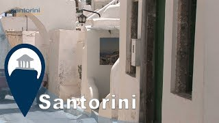 Santorini   Megalochori village