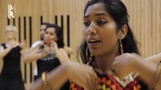 A classical Bollywood dance workshop given by Prof. megha jagawat at triwat dance school in paris on 14th May 2017