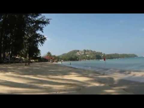 Phuket, Bang Tao beach, Jan 23, 2015, after cleaning beach