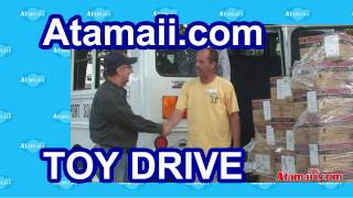 Atamaii.com Christmas Toy Drive Charity Toys Donation